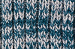 Knit woolen texture Stock Image