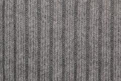 Knit woolen texture Royalty Free Stock Photos