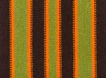 Knit woolen texture background, colourful and stripy Royalty Free Stock Image