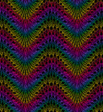 Knit Work. Seamless Pattern. Royalty Free Stock Images