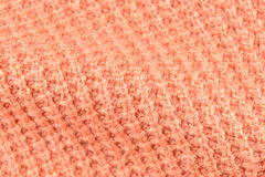 Knit yarn fabric for pattern background Royalty Free Stock Images