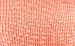 Knit yarn fabric for pattern background Royalty Free Stock Photos