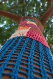 Knitmustermosaik Stockbilder