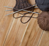 Knits with Royalty Free Stock Images