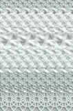Knitted abstract grey and white surface  Stock Photo