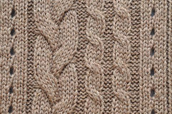 Knitted Background Royalty Free Stock Image