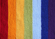 Knitted background pattern Stock Image