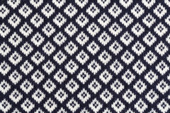 Knitted background in rhombus Royalty Free Stock Image