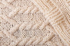 Knitted background, texture. Hand Knitting Royalty Free Stock Photography