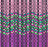 Knitted background, vector  Royalty Free Stock Image