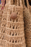 Knitted Bag Stock Photo