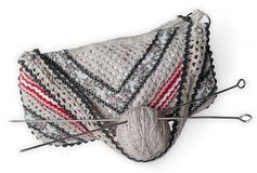 Knitted bag Royalty Free Stock Photo