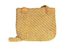 Knitted bag Royalty Free Stock Photography