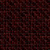 Knitted basket texture, brown. And little red color Royalty Free Stock Image