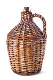 Knitted baskets Royalty Free Stock Photo