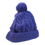 Knitted Beanie Royalty Free Stock Photography