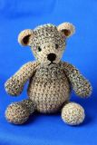 Knitted Bear Royalty Free Stock Photos