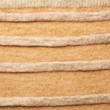 Knitted beige sweater fragment Royalty Free Stock Photo
