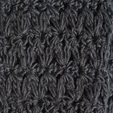 Knitted black cloth Stock Images