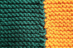 Knitted blanket background Royalty Free Stock Photos