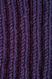 Knitted blue wool texture Royalty Free Stock Image