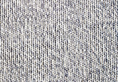 Knitted brown canvas grunge texture as background Royalty Free Stock Image