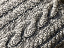Knitted Cables Stock Images