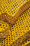 Knitted cage surface Royalty Free Stock Images