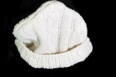 Knitted cap Stock Image
