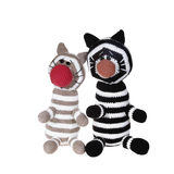 Knitted cats Royalty Free Stock Image