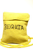Knitted change purse bag souvenir of bequia Stock Photos