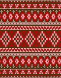 Knitted Chrismas rug tribal ornament seamless pattern. Ethnic aztec print. Knitted Chrismas rug tribal ornament seamless pattern. Ethnic aztec towel, yoga mat stock photos