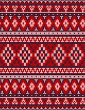 Knitted Chrismas rug tribal ornament seamless pattern. Ethnic aztec print. Knitted Chrismas rug tribal ornament seamless pattern. Ethnic aztec towel, yoga mat stock photography