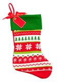 Christmas Stocking Knitted Stock Images
