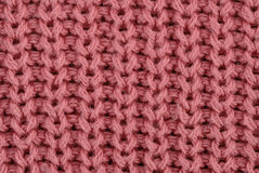 Knitted Closeup Stock Photography