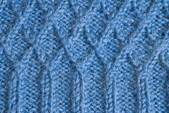 Knitted cloth Royalty Free Stock Images