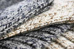 Knitted cloth Stock Photography