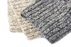 Knitted cloth Stock Photo
