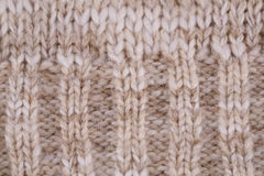 Knitted cloth background Stock Photo