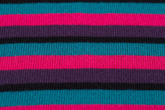 Knitted cloth background Stock Photos