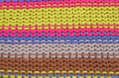 Knitted cloth background Royalty Free Stock Images