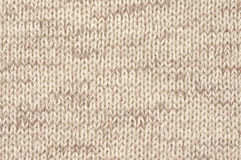 Knitted cloth texture Stock Images