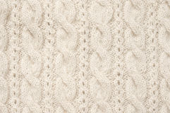 Knitted cloth texture Stock Photography