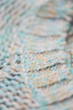 Knitted clothes closeup Stock Photos