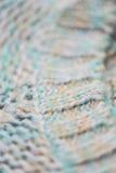 Knitted clothes closeup Stock Photos