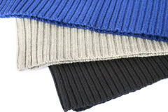 Knitted cloths Stock Photography