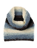 Knitted color scarf. Stock Image