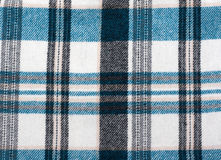 Knitted colour plaid fabrics Stock Photo
