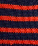 Knitted colour plaid fabrics Stock Images