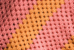 Knitted cotton background Stock Photography